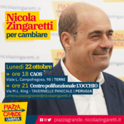 Medium – Zingaretti – 20 0ttobre 2018